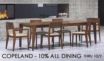Copeland Dining Sale - Fall 2017