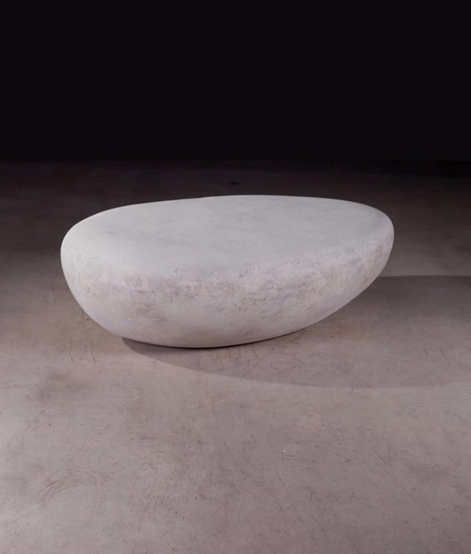 River Stone Cocktail Table Roman Stone