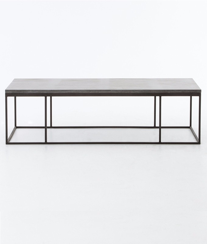 harlow coffee table - beyondblue interiors - raleigh, durham