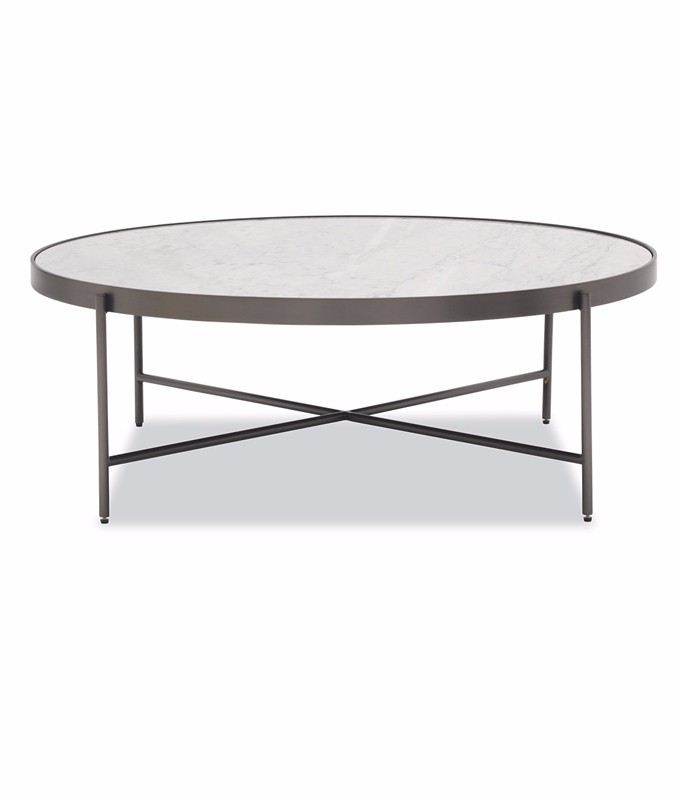 Mitchell Gold Bob William Turino Marble Cocktail Table