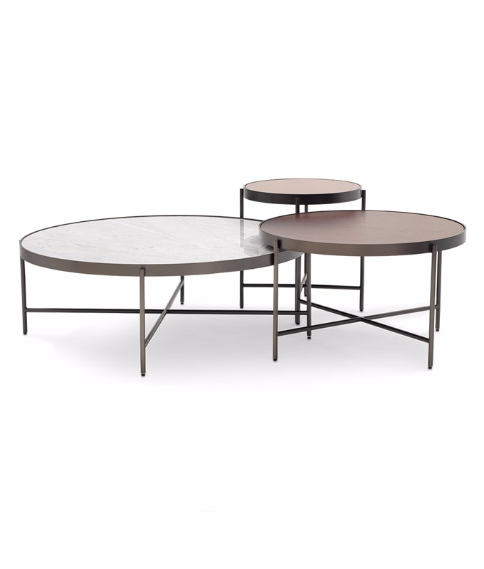 Charmant Mitchell Gold + Bob Williams Turino Nesting Cocktail Tables