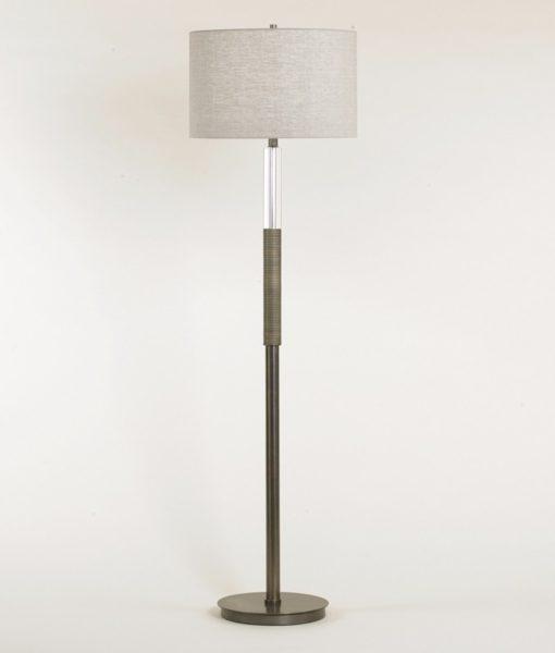 atlantic floor lamp beyondblue interiors   raleigh