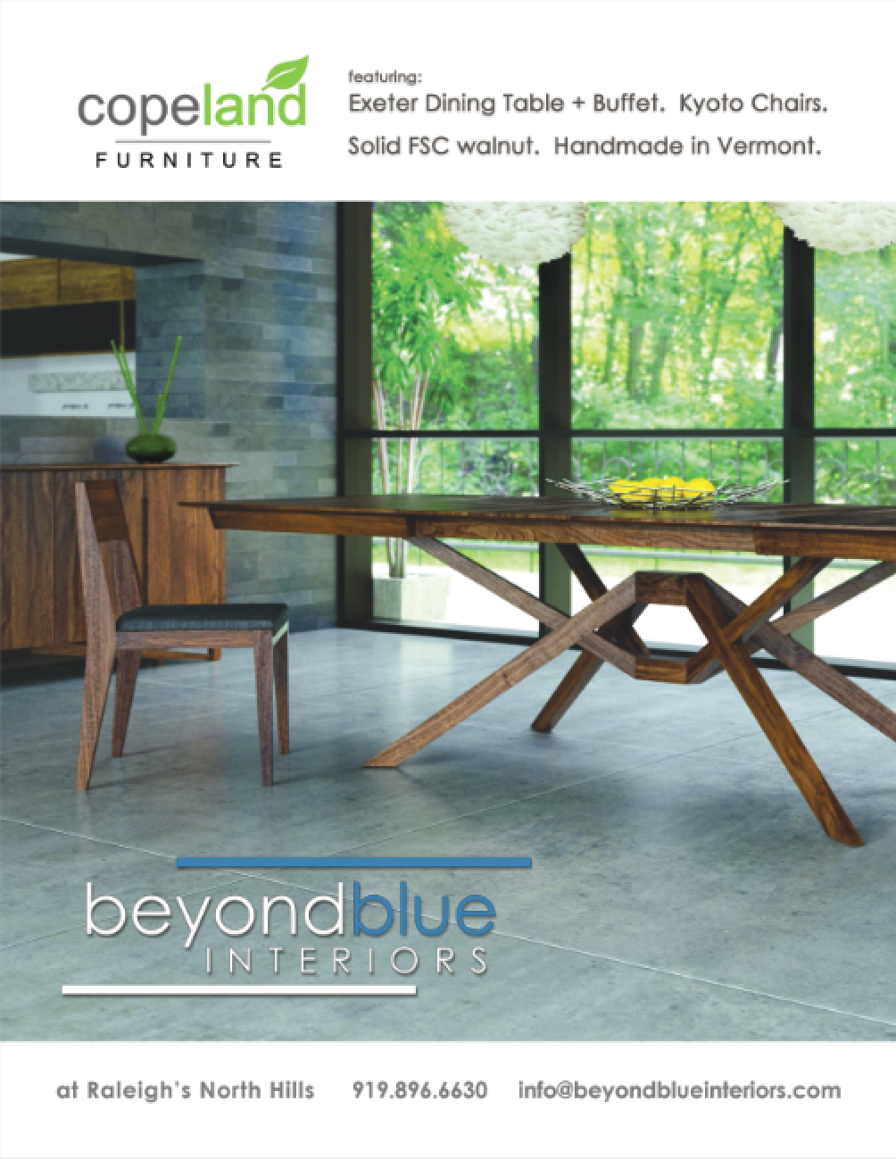 BeyondBlue Home Design U0026 Decor Full Page Ad   April + May 2017